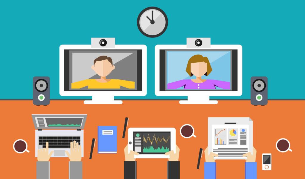 ارائه خدمات وب کنفرانس، راه اندازی وبینار و کلاس مجازی