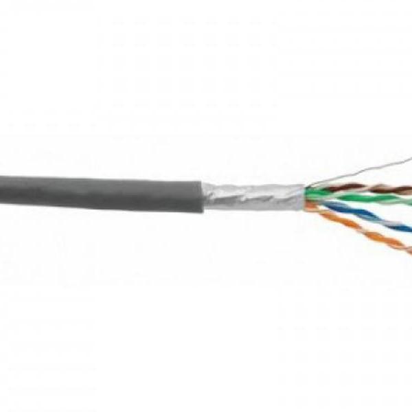 کابل شبکه دی لینک رول 305 متری کت 6 دارای فویل و با روکش پی وی سی   D-Link NCB-C6SFGRR-305 Cat6 24AWG SFTP Network Cable Roll 305M