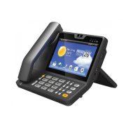 گوشی تلفن تحت شبکه باصفحه رنگی لمسی ونرم افزار اندروید مدل Akuvox VP-R47P