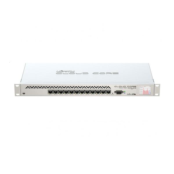 روتر مدیریتی 12 پورت گیگابیت کلود میکروتیک CCR1016-12G