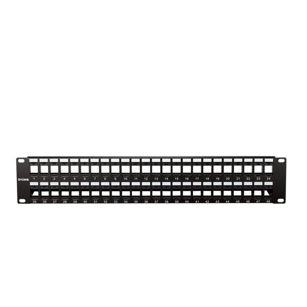 پچ پنل بدون کیستون 48 پورت دی-لینک NPP-AL1BLK481
