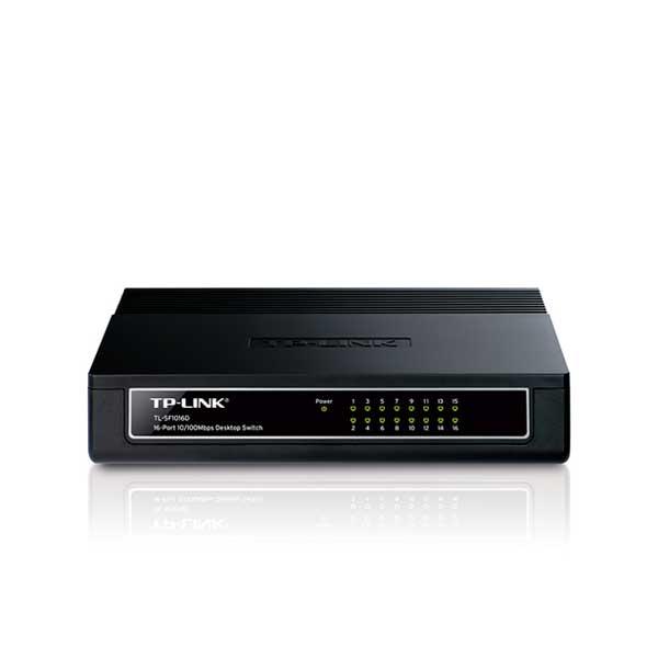 سوئیچ 16 پورت اترنت غیر مدیریتی رومیزی تی پی لینک TP-LINK TL-SF1016D