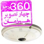 دوربین تحت شبکه چشم ماهی 360 درجه DSE SF500-IPC-4360A-IR