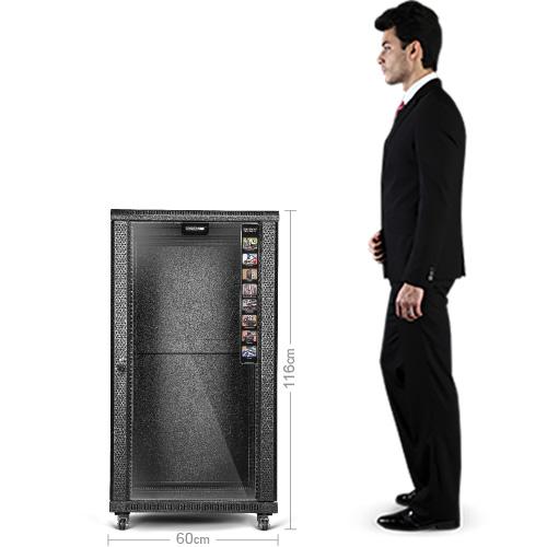 دیتاشین رک سرور/شبکه 22 یونیت عمق 100cm