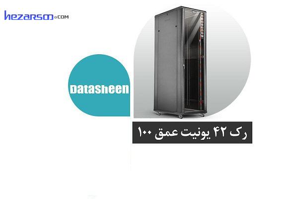 رک سرور شبکه 42 یونیت عمق 100 سانتیمتر دیتاشین Datasheen SR429B