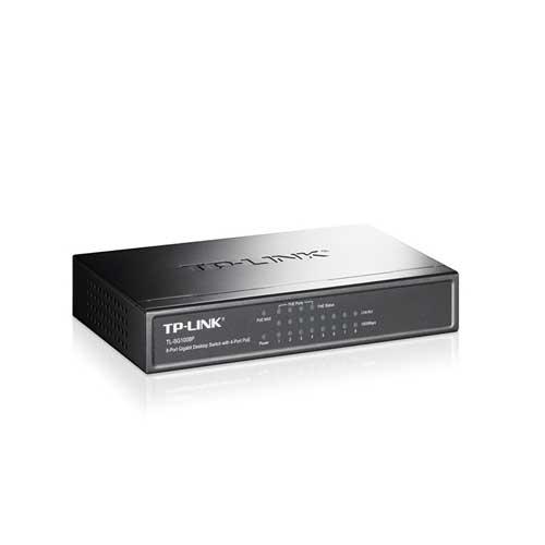سوئیچ 8پورت 10/100/1000Mbps رکمونت غیر مدیریتی TPlink TL-sg1008p