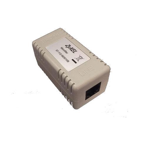 میکروفیلتر، نویزگیر خطوط تلفن و ADSL زایکسل zyxel