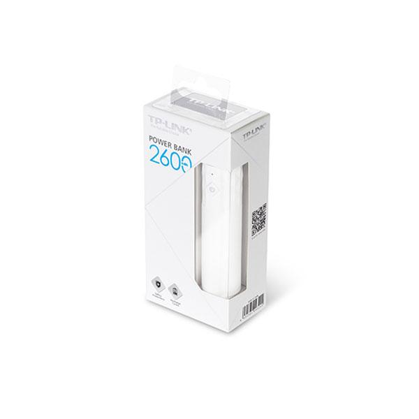 پاور بانک تی پی لینک ظرفیت 2600 میلی آمپر ساعت TP-Link TL-PB2600