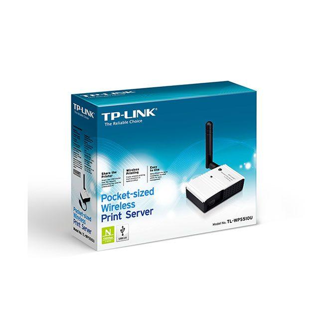 پرینت سرور وایرلس تک آنتن سری N150 تی پی لینک TP-LINK TL-WPS510U