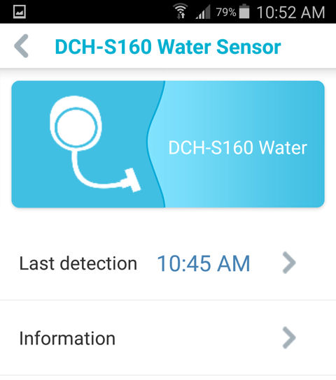 سنسور نشست آب دی-لینک D-LINK DCH-S160