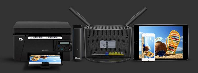 روتر وایرلس چهارپورت سری AC1200 دو باند تندا AC9 Tenda