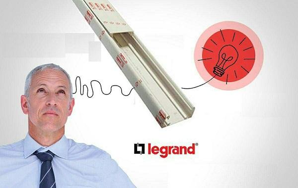 ترانک لگراند اورجینال 105X50 شاخه دو متری legrand 10422