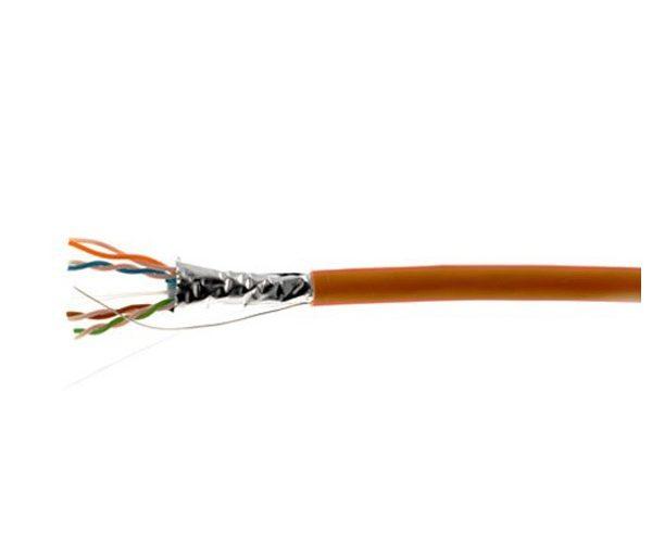 کابل شبکه غلاف دار 500 متری نکسنز مدل N100.632 کت 6 | Nexans N100.632 Cat6 SF/UTP LSZH 500M Network Cable