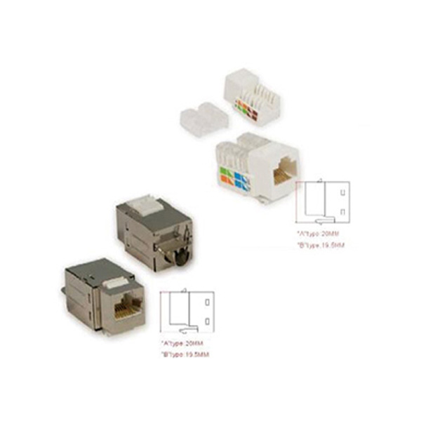 کیستون شبکه Cat5e سانت S 5UKYSXX Sunet