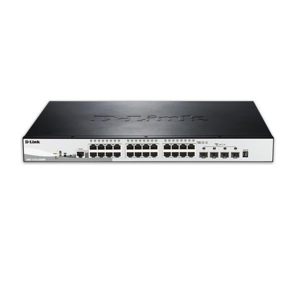 سوئیچ وب اسمارت 28 پورت 10,100,1000 دی لینک D-Link DGS-1510-28XMP
