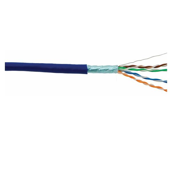 کابل شبکه CAT5E دارای فویل، با روکش پی وی سی 305 متری دی لینک NCB-5ESBLUR-305