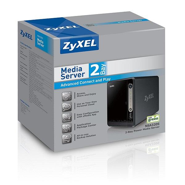 ذخیرهسازهای شبکه(NAS) زایکسل NSA325 V2 Zyxel
