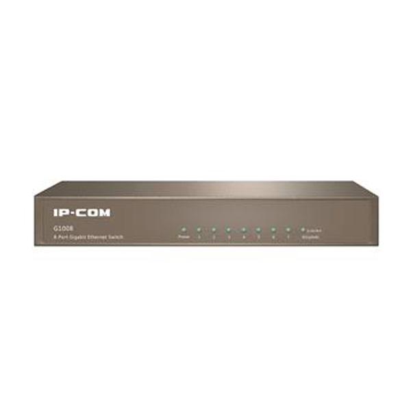 سوییچ 8 پورت 10,100,1000 گیگابیت آی پی کام G1008 IP-COM
