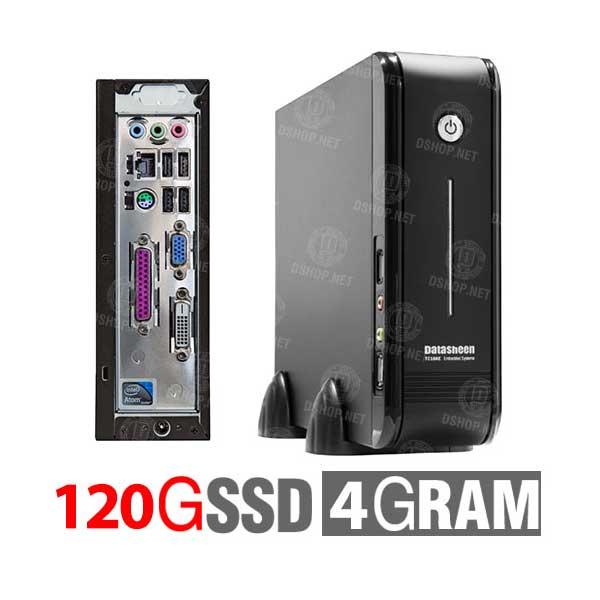 تین کلاینت دیتاشین پردازنده اینتل اتم D2700 هارد 120 مدل DATASHEEN TC18AE4120