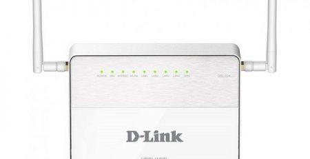 دیلینک DSL-۲۲۴: ارزانترین مودم روتر +ADSL۲ و +VDSL۲ در بازار ایران