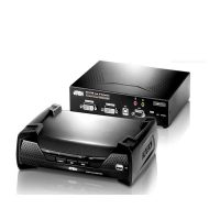 سوئیچ کی وی ام اکستندر آتن KE-6940 USB DVI-I Dual Display ATEN