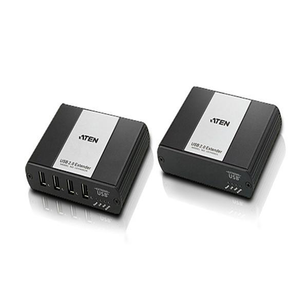 هاب USB 2.0 چهار پورت آتن UEH-4002 Cat 5 Extender up to 100m ATEN