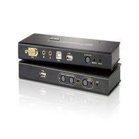 سوئیچ کی وی ام اکستندر آتن CE-800B USB VGA/Audio Cat 5 ATEN