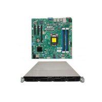سرور رکمونت شاسی سروینو پاور 400 وات مادربورد سوپرمایکرو Supermicro Motherboard Xeon Boards X10SLL-F