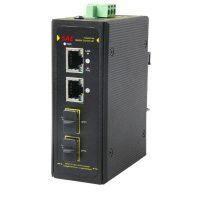 سوییچ صنعتی POE هوشمند 2 پورت 10/100/1000 اس ای ایی SAE-IPE2200F-DSFP