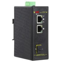 سوییچ صنعتی POE هوشمند 2 پورت 10/100/1000 اس ای ایی SAE-IPE2200F-SSFP