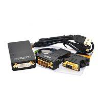 کابل تبدیل یو اس بی به DVI/HDMI/VGA +audio بافو BF-4917 BAFO