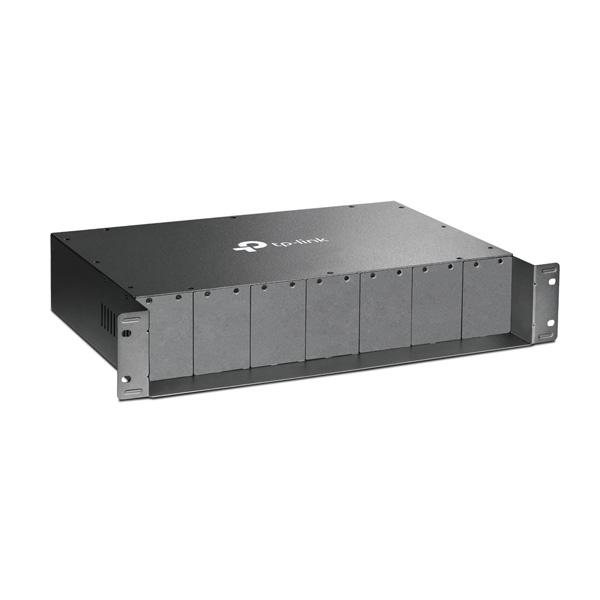 شاسی مدیاکانورتور - مبدل فیبر با 14 اسلات تی پی-لینک TP-LINK TL-MC1400