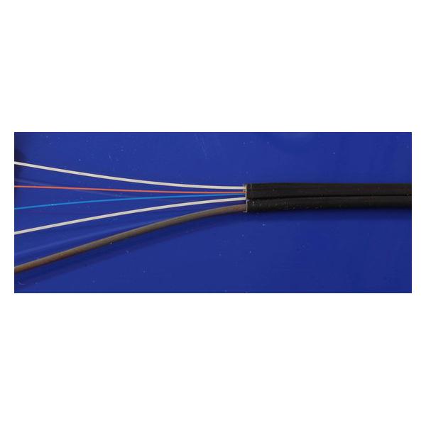 کابل دراپ فیبر نوری فوجیکورا سینگل مود فضای خارجی Fujikura Drop cable in-outdor
