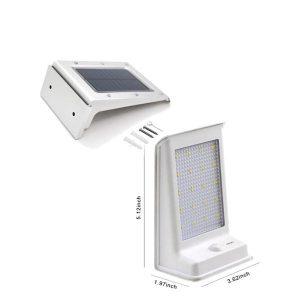 چراغ خورشیدی مدرن سنسوردار 120R خورشید نور