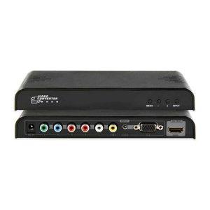 مبدل ویدیو کامپوننت/کامپوزیت/VGA/صدا به HDMI لنکنگ LKV353 LENKENG