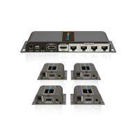 اسپلیتر اکستندر ۱به ۴ HDMI لنکنگ LKV714PRO LENKENG
