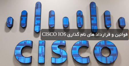قوانین و قرارداد های نام گذاری CISCO IOS