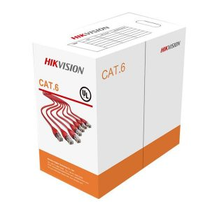 کابل شبکه Cat 6 هایک ویژن UTP حلقه 305 متری