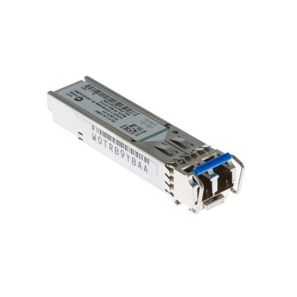 ماژول فیبر نوری SFP  سینگل مود 1000 سیسکو Cisco GLC-LH-SMD Compatible 1000BASE-LX/LH SFP |