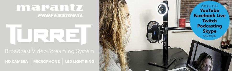 پخشکننده اینترنتی برودکست MARANTZ مدل Turret