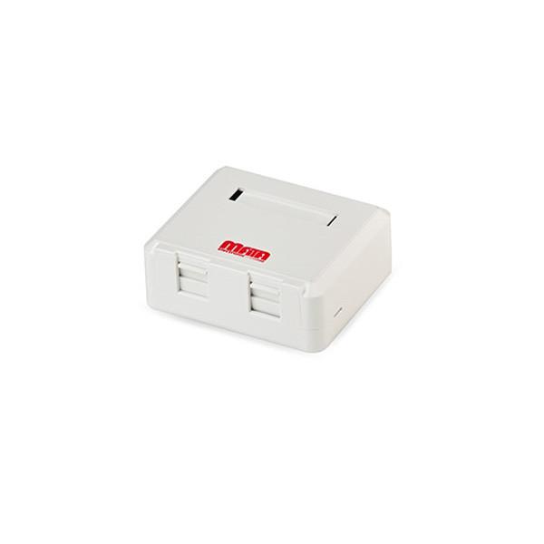 باکس روکار 2 پورت متا الکترونیک 1050008 Mata Electronic