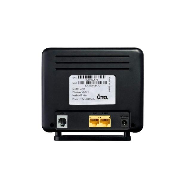 مودم روترVDSL2/ADSL2 یوتل V301 U.TEL