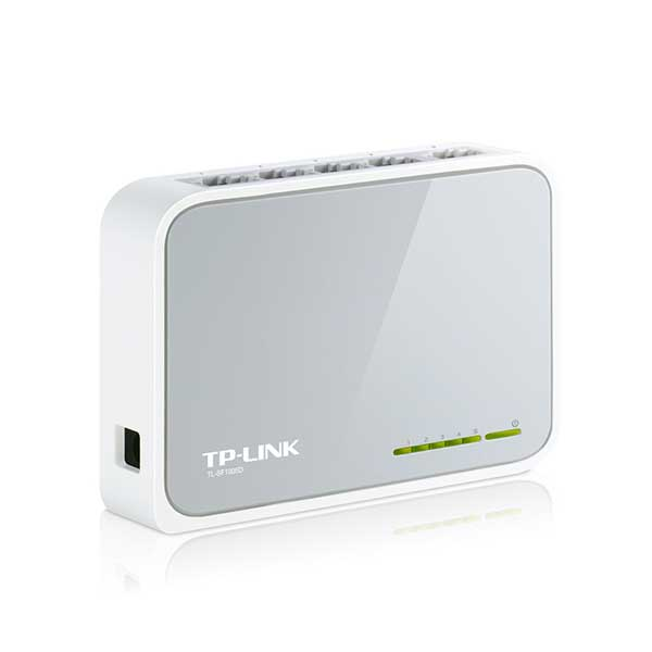 سوئیچ 5 پورت اترنت غیر مدیریتی تی پی لینک TP-LINK TL-SF1005D