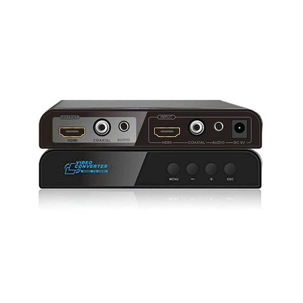 مبدل ویدئویی افزاینده ،کاهنده وضوح تصویر افزودن صدا HDMI لنکنگ LKV323