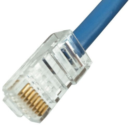 کانکتور شبکه Cat6 با کیفیت خوب بسته 10 عددی دی اس ای RJ45-Plug-UTP