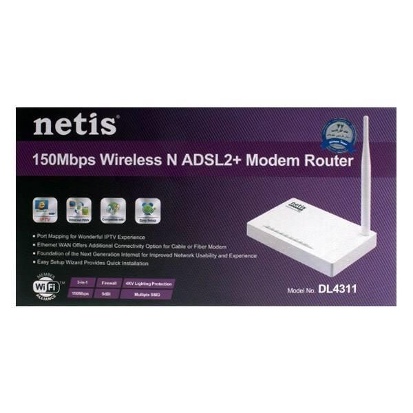 مودم وایرلس N150 نتیس Netis DL4311