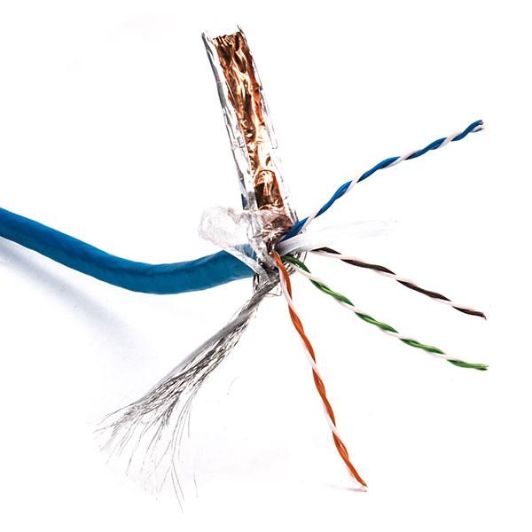 کابل شبکه Cat6 SFTP حلقه 500 متری طرح لگراند