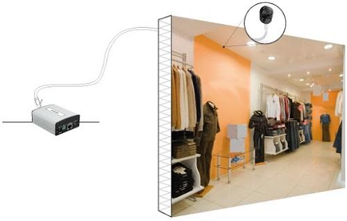 دوربین تحت شبکه کابلی POE دی-لینک مدل DCS-1201