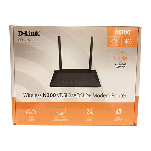 مودم ADSL/VDSL دیلینک DSL-۲۲۴ NEW