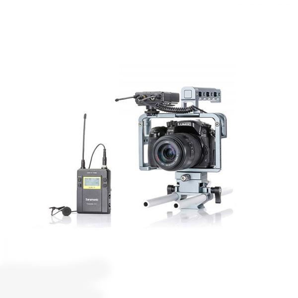میکروفن بی سیم یقه ای سارامونیک مدل UwMic9 Kit1